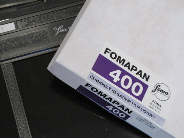 Review: Fomapan 400 4×5 Film