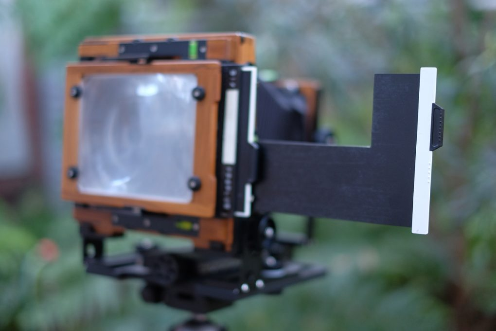 How to make a 2×5 adaptor for 4×5 film holders by David Tatnall