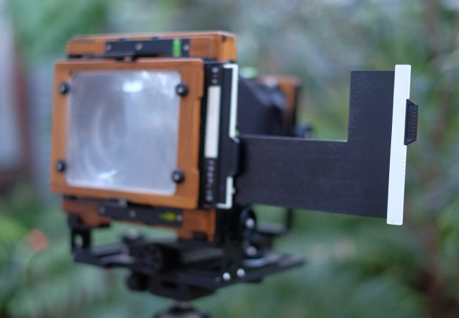 How to make a 2×5 adaptor for 4×5 film holders