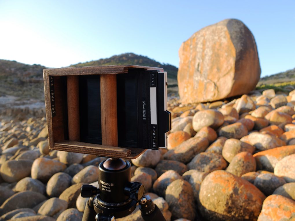 Review: Lensless Camera 4×5 pinhole cameras by David Tatnall