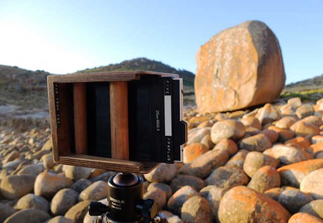 Review: Lensless Camera 4×5 pinhole cameras by David Tatnall.