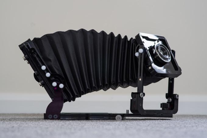Chroma: acrylic 4×5 camera