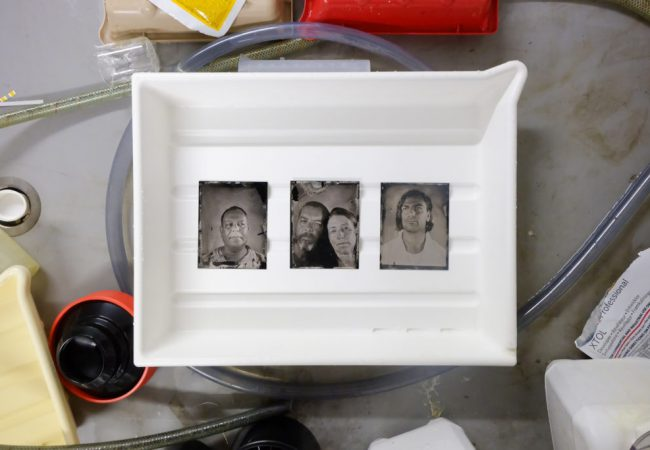 Workshop: Tintypes at PhotoAccess
