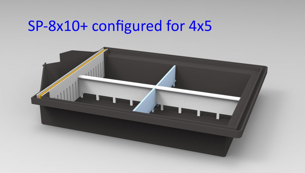 Relaunch of the SP-8×10+ daylight developing tank
