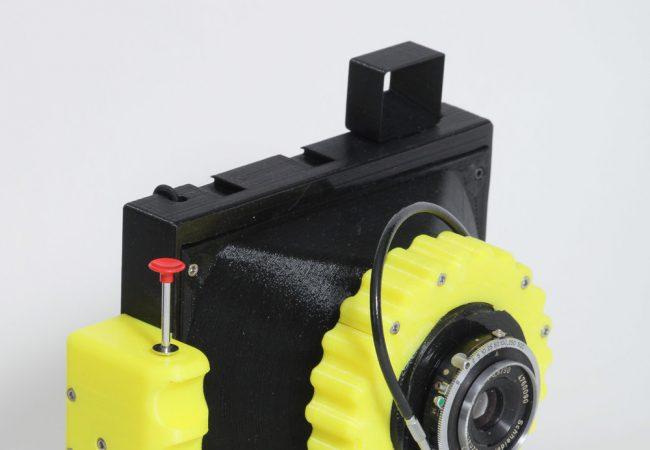 Cameradactyl OG – 3D printed 4 x 5 camera