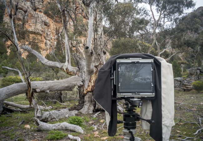Photographing at Mount Arapiles