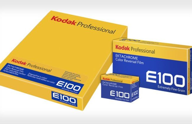 Kodak Ektachrome E100 available in 4×5