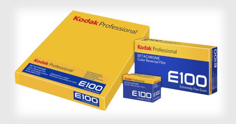 Kodak Ektachrome E100 available in 4×5